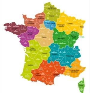 France a 13 régions
