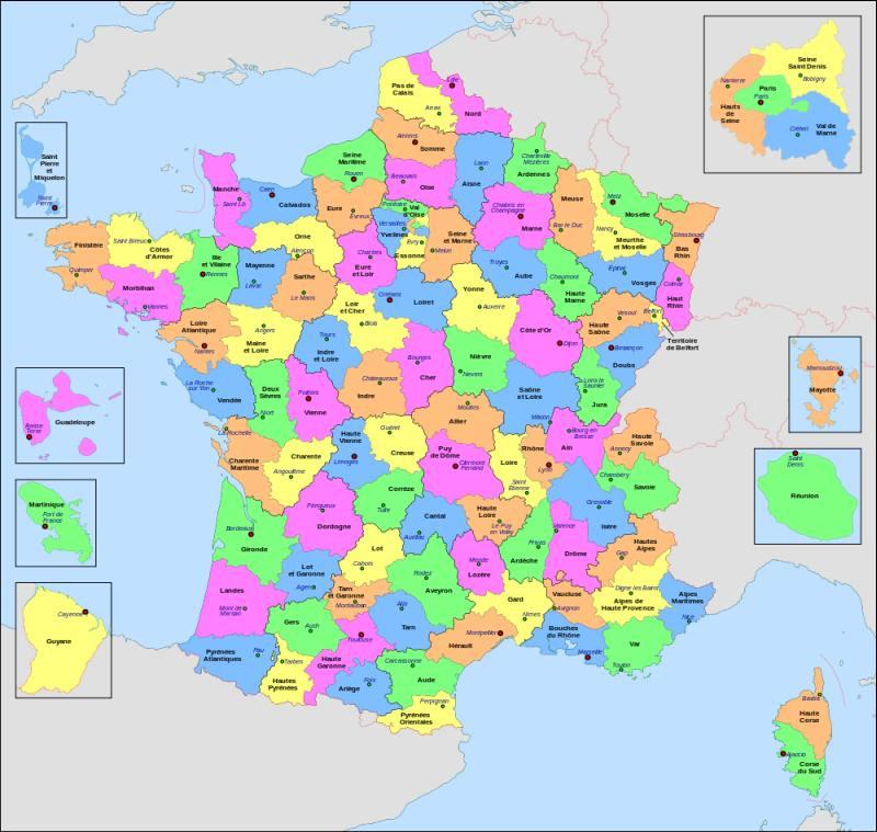 departements France