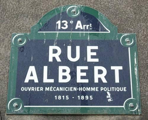 Rue Albert Paris
