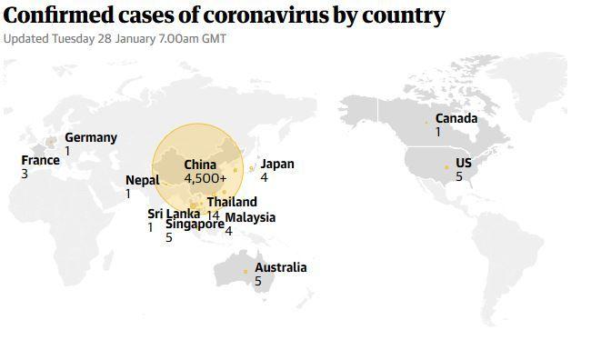 confirmed coronavirus