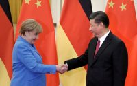 Merkel en Chine