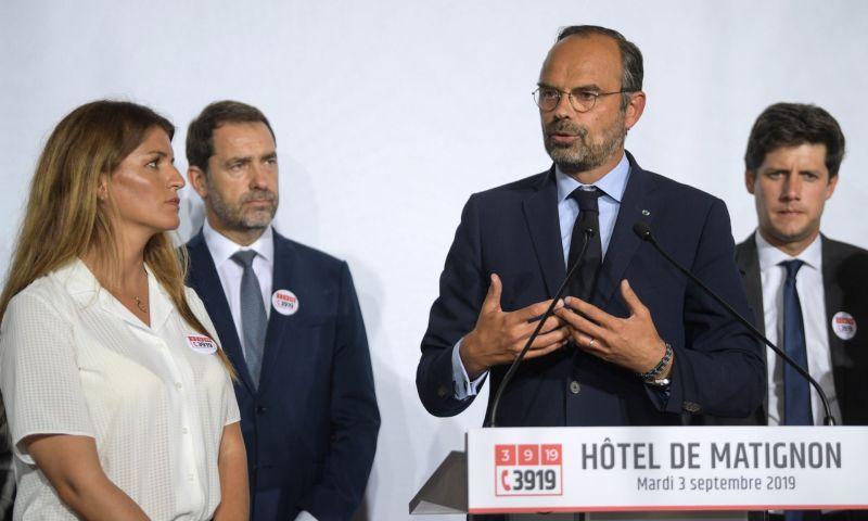 Édouard Philippe à l'hôtel de Matignon