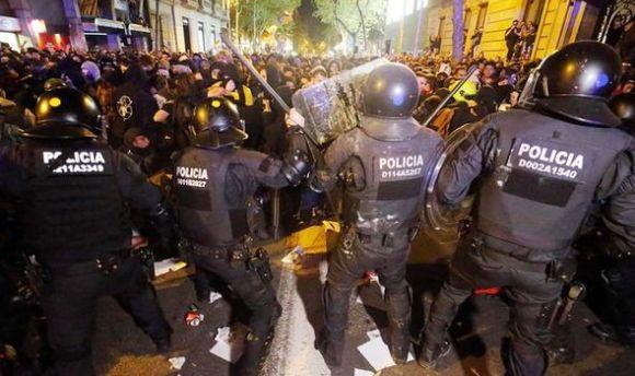 police à barcelone